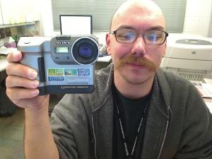 picture of Mavica digital camera (manufactured circa 2001)